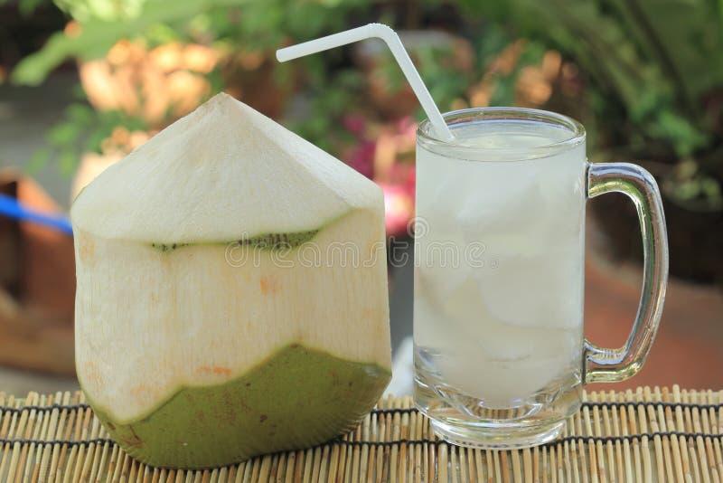 Kokosnuss-Saft lizenzfreie stockbilder