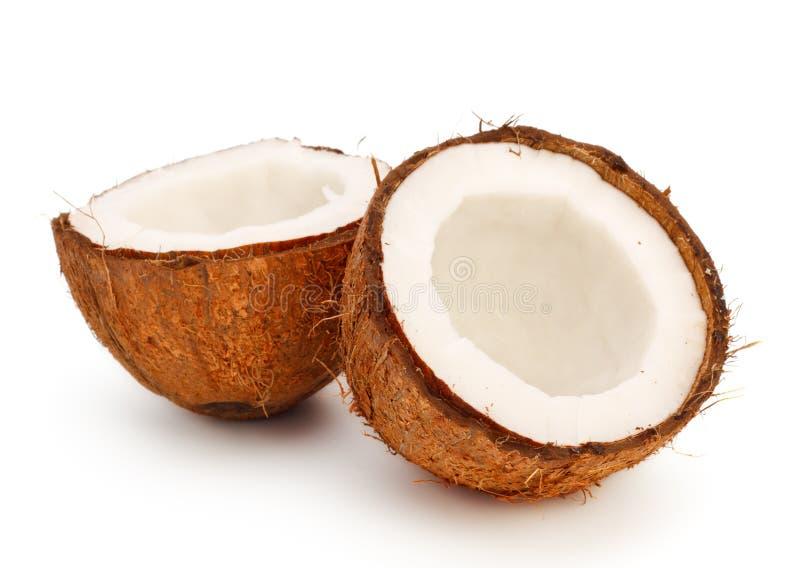 kokosowe połówki zdjęcie stock