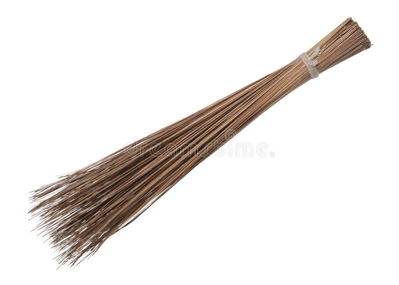Kokosowego liścia broomstick duster szorstki wymiatacz zdjęcie royalty free