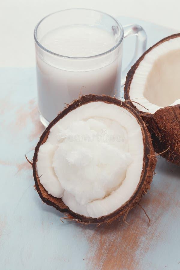 kokosowy świeży mleko zdjęcie royalty free