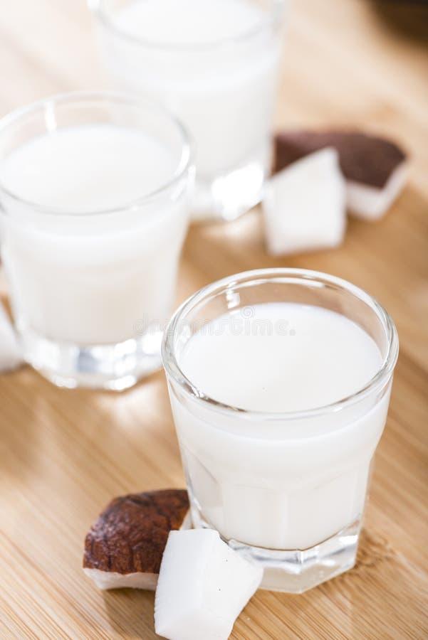Kokosowy ajerkoniak fotografia stock