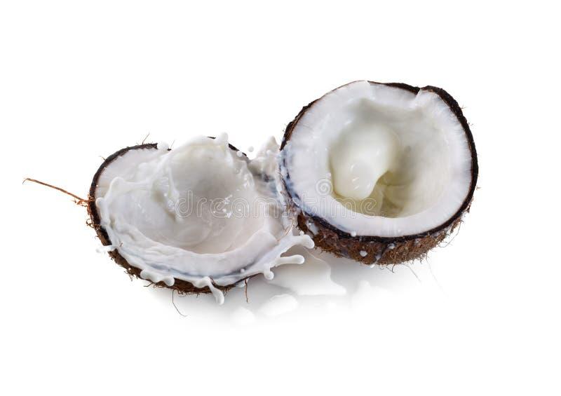 kokosowy mleko obraz royalty free