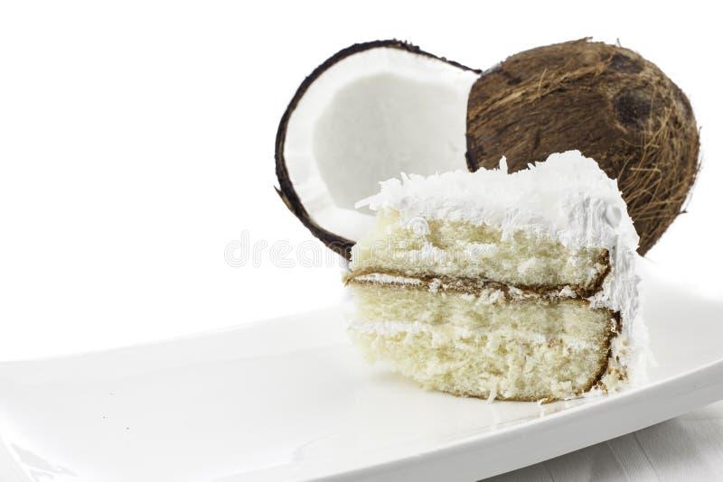 Kokosowy tort fotografia stock