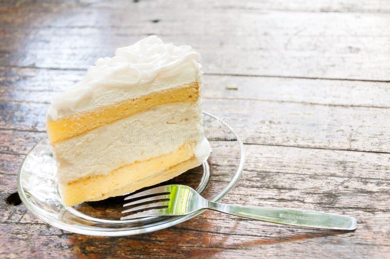Kokosowy tort obrazy stock