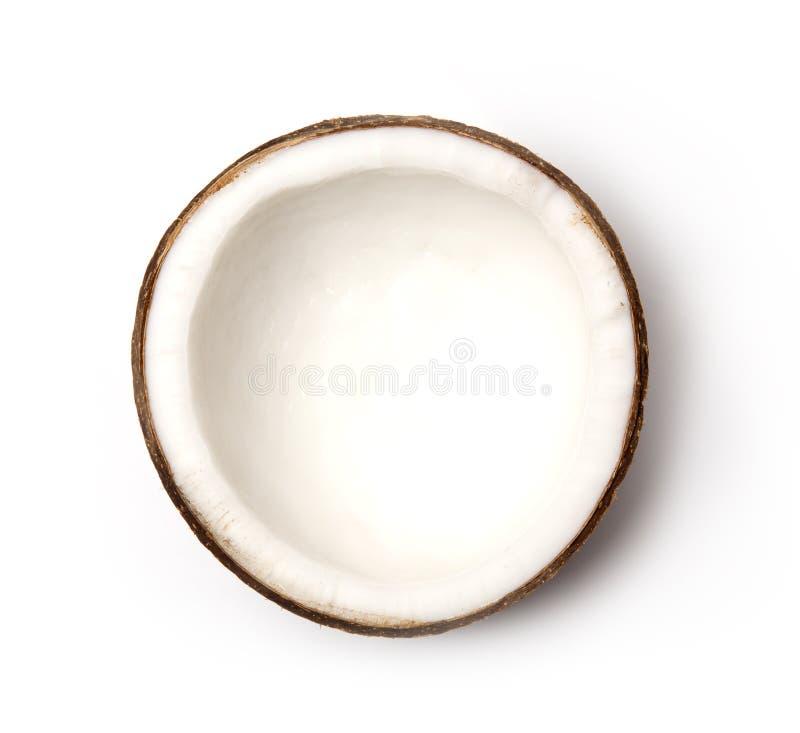 Kokosowy zbliżenie zdjęcie royalty free