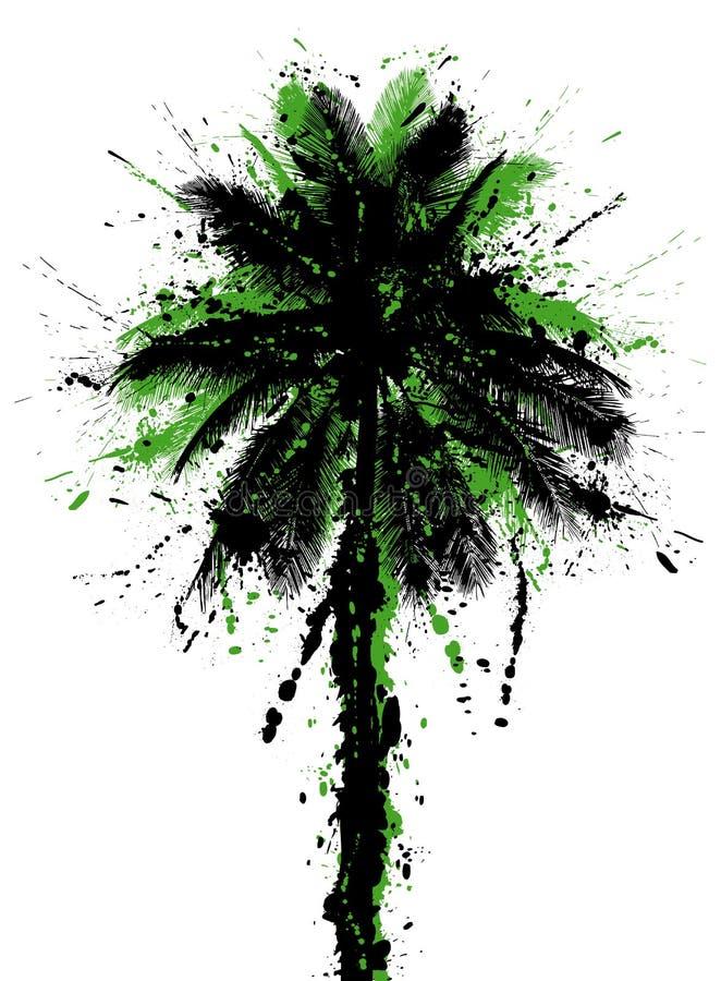 Kokospalm vector illustratie