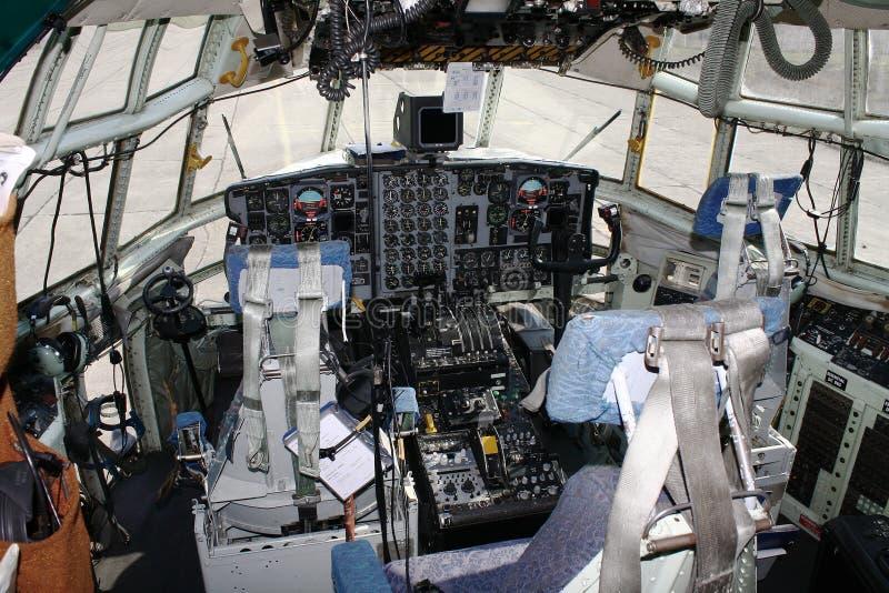 kokpit zdjęcie royalty free