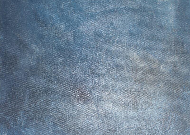 Koksgraue atmosphärische Ölgemäldemalleinwand stockfotografie