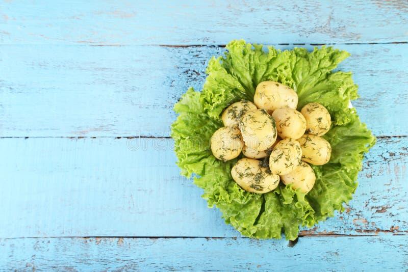 kokt potatisar fotografering för bildbyråer