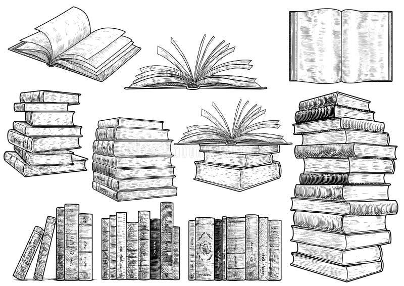 Koktajl ilustracja, rysunek, rytownictwo, atrament, kreskowa sztuka, vectorBook inkasowa ilustracja, rysunek, rytownictwo, atrame ilustracji
