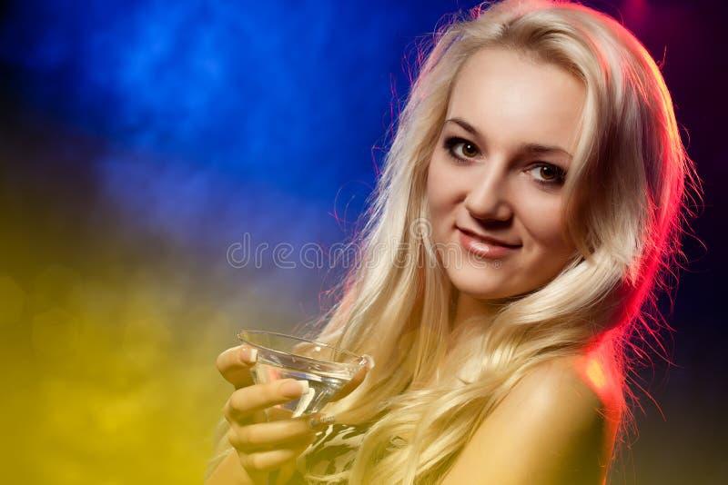 koktajl kobieta obrazy stock