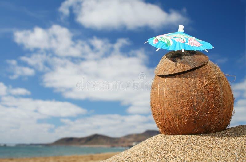 koktajl na plaży zdjęcie royalty free
