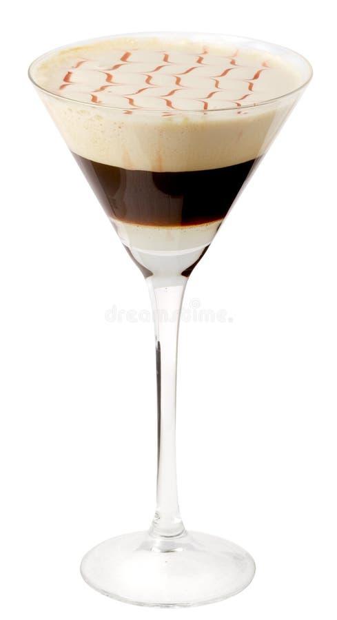 koktajle 19 kawy szkła zdjęcia royalty free