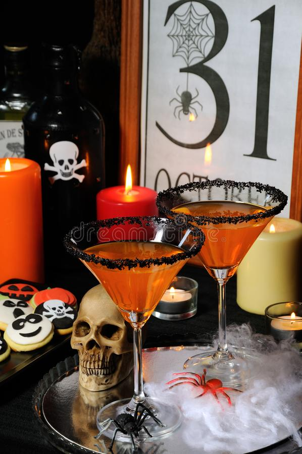 Koktajle dla Halloween fotografia stock
