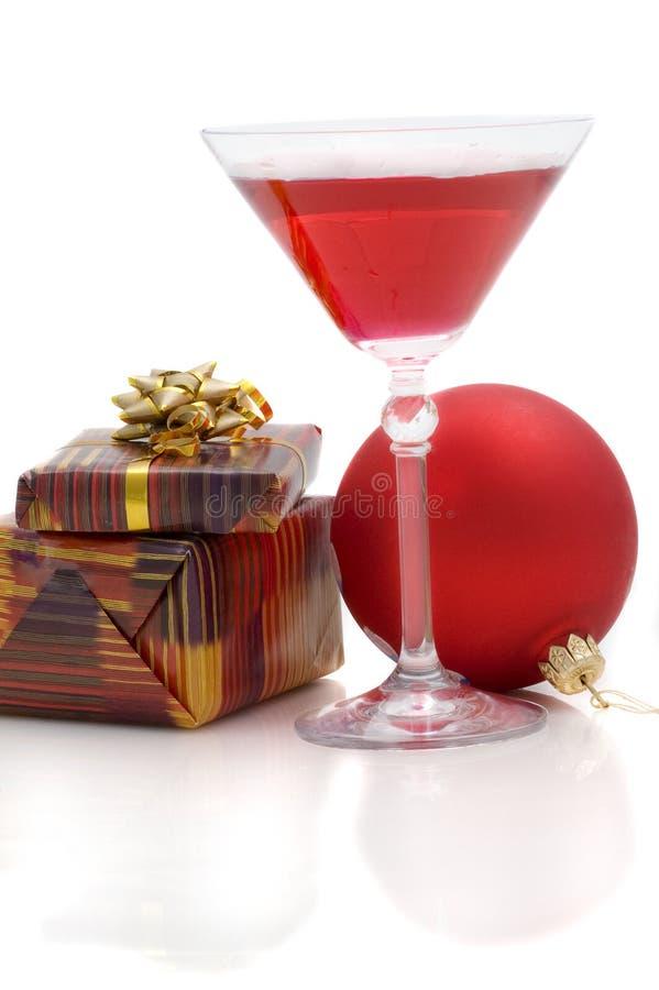 koktajle kulowego prezentów nowego roku zdjęcie stock