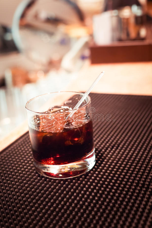 koktajlu czarny rosjanin zdjęcie stock