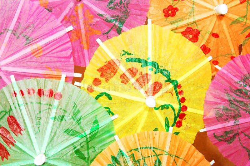 koktajlu parasol fotografia stock