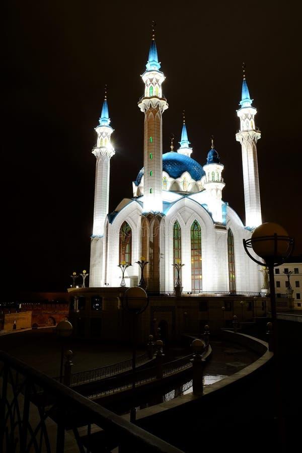 Kol谢里夫,喀山克里姆林宫,喀山Rusia 图库摄影