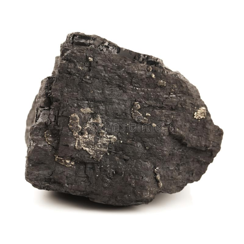 Kol i en kolgruva royaltyfri foto