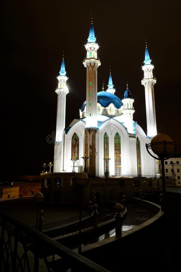 Kol Sharif, Kazán el Kremlin, Kazán Rusia fotografía de archivo