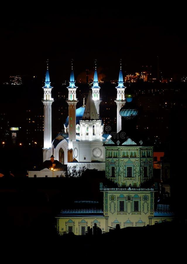 Kol Sharif, Kazan het Kremlin, Kazan Rusland royalty-vrije stock fotografie