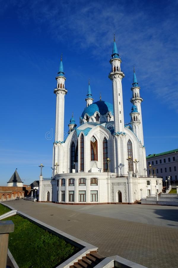 Kol Sharif, Kremlin de Kazan, Kazan Rússia imagem de stock royalty free
