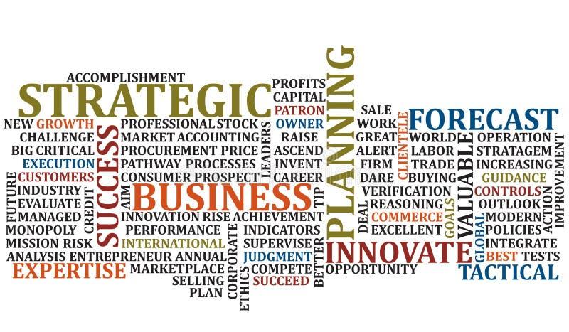 kolażu 2 biznesowego słowa zdjęcie stock