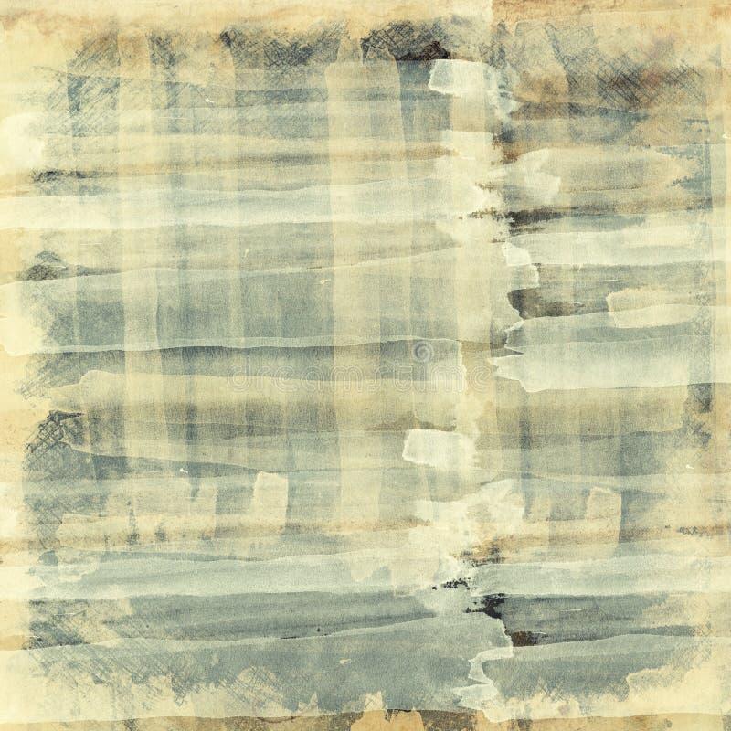 kolażu abstrakcjonistyczny grunge textured ilustracja wektor