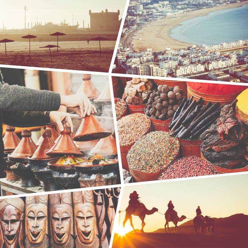 Kola? typowi miejsca w Maroko - m?j fotografie obraz royalty free