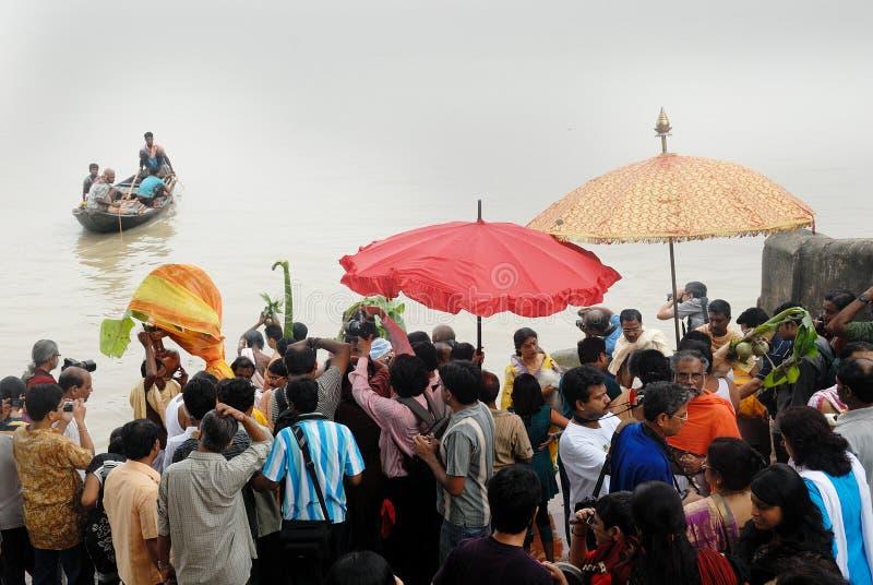 Download The Kolabau Ritual At The River Ganga Editorial Photography - Image: 16704307