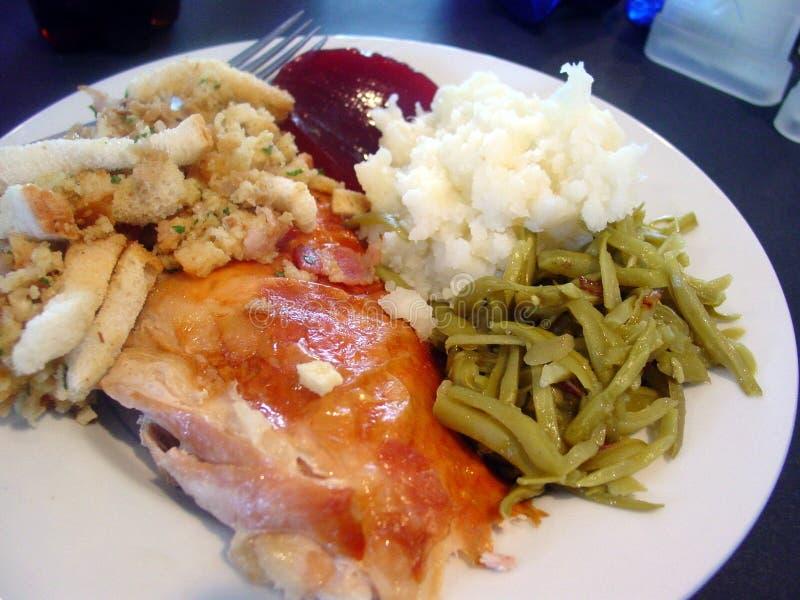 kolacja w Święto dziękczynienia zdjęcie stock