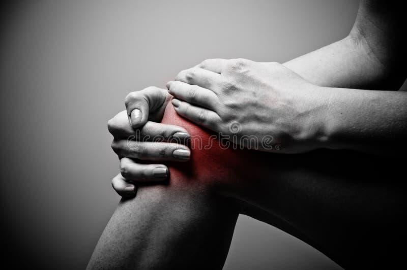 kolano ból obraz stock