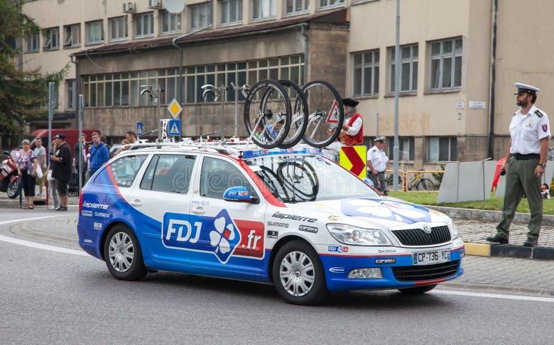 Kolarstwo rasy wycieczka turysyczna De Pologne 2014 zdjęcia stock