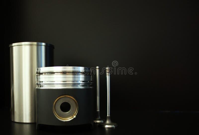 Kolben mit Zubehör lizenzfreie stockfotografie