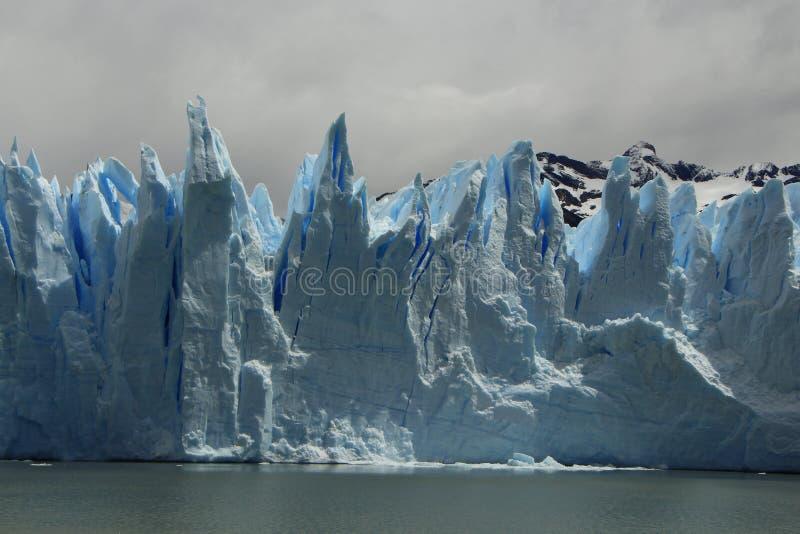 Kolce lodowiec fotografia royalty free