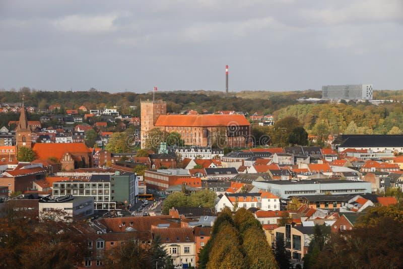 Koldinghus一座老城堡在科灵丹麦 图库摄影