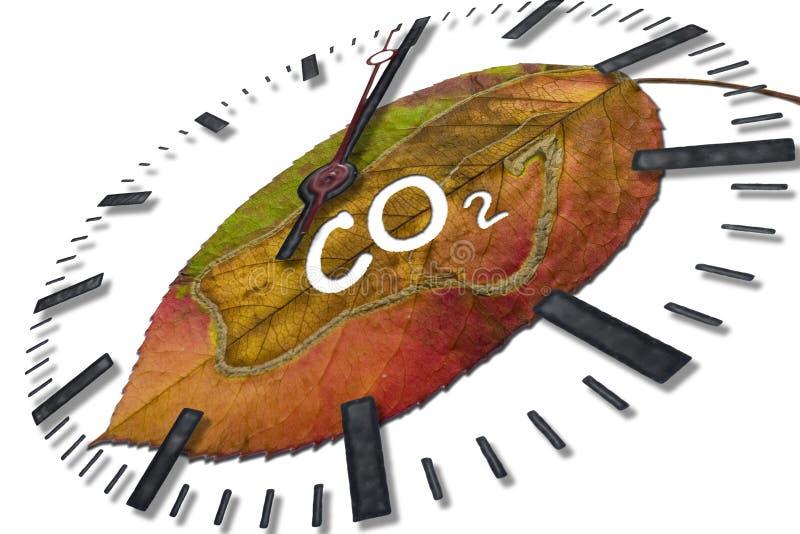 koldioxid arkivfoto