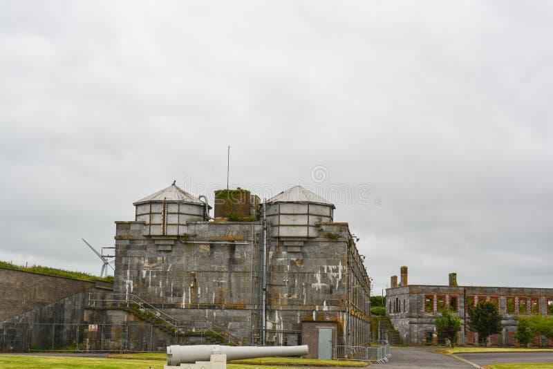 Kolec wyspy muzeum Cobh i zewnętrzni budynki zdjęcie royalty free