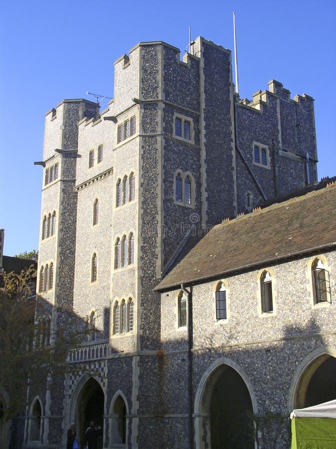 kolegium anglików zdjęcie stock