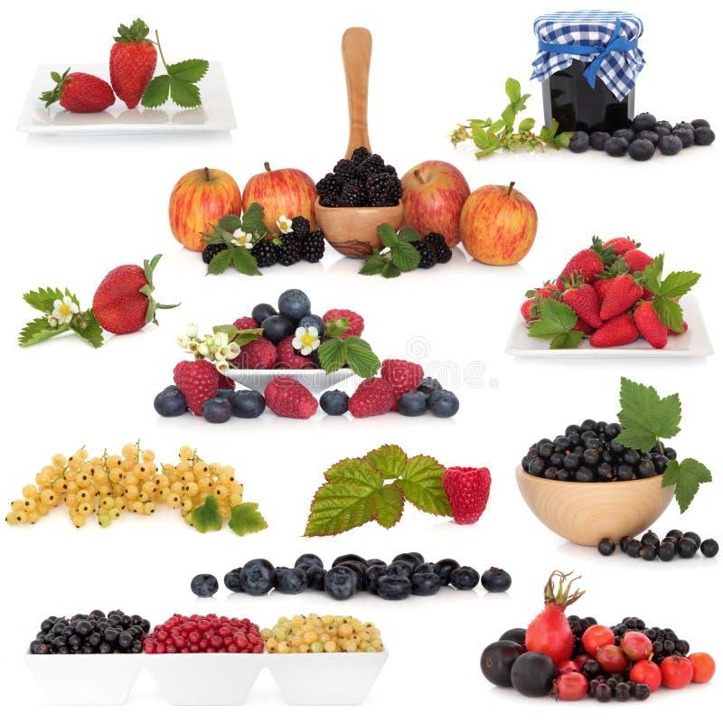 kolekci jagodowa owoc zdjęcie royalty free