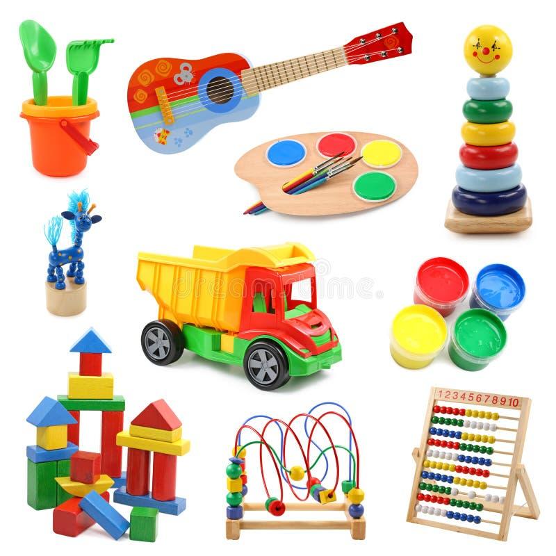 kolekcj zabawki. fotografia stock