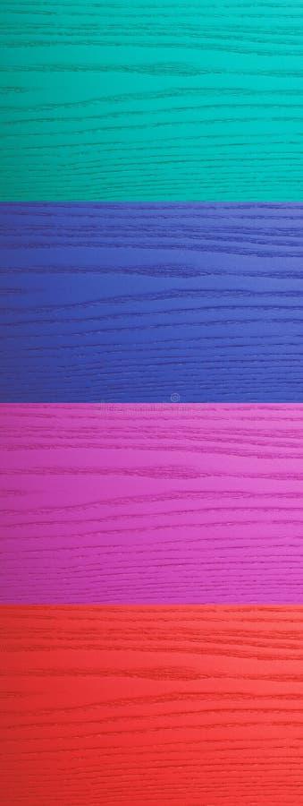Kolekcja barwiony drewna tło zdjęcie royalty free