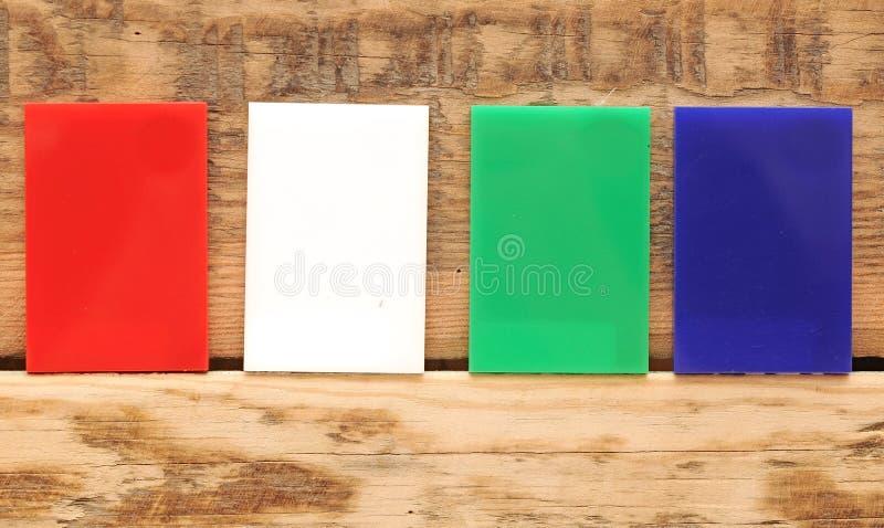Kolekcja kolorowy sztandar zdjęcia royalty free