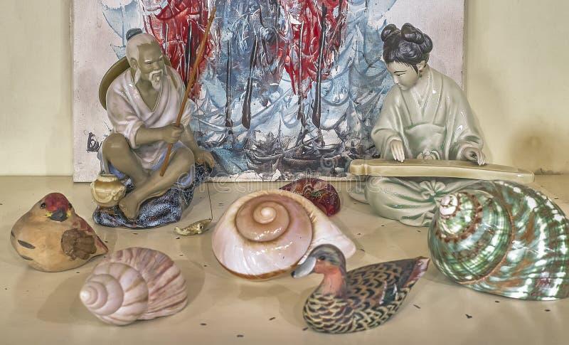Kolekcja orientalne pamiątki zdjęcie stock