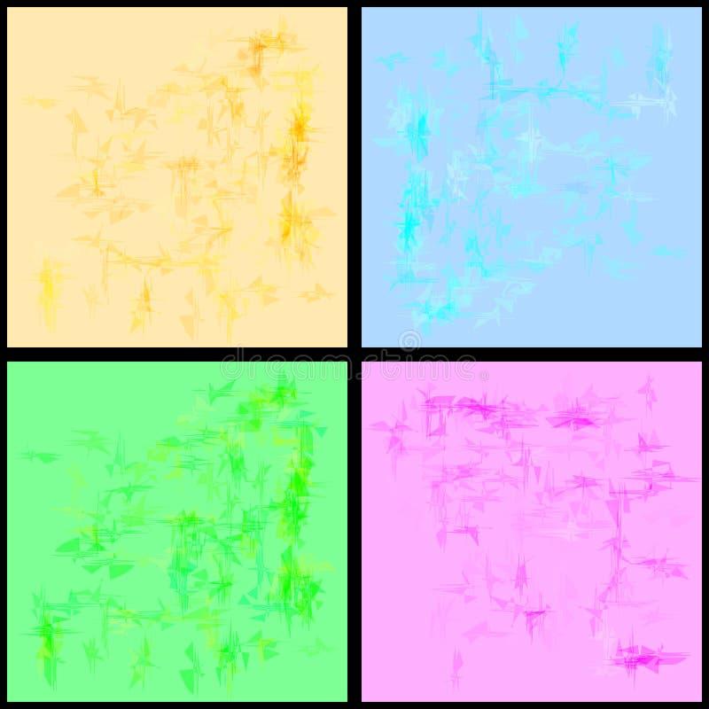 Kolekcja papierowe tekstury dla projekta wiosna i summ royalty ilustracja