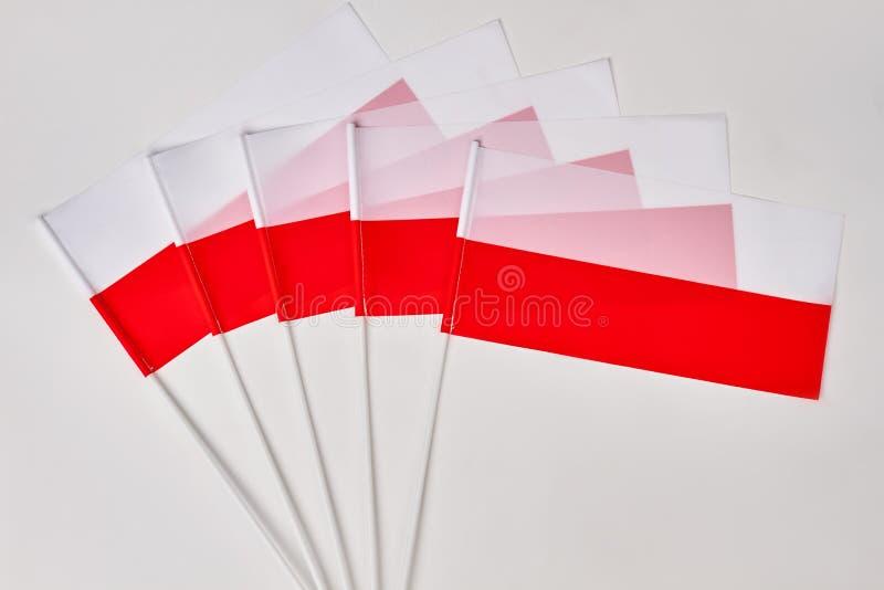 Kolekcja połysk flaga zdjęcia royalty free