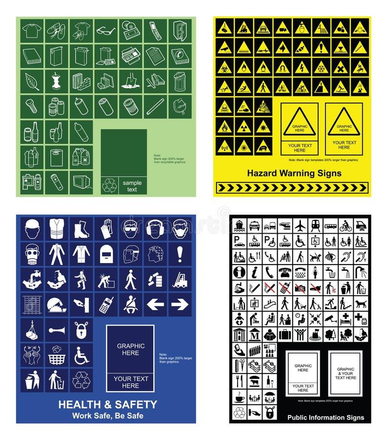 kolekcja robi swój znakowi twój ilustracji