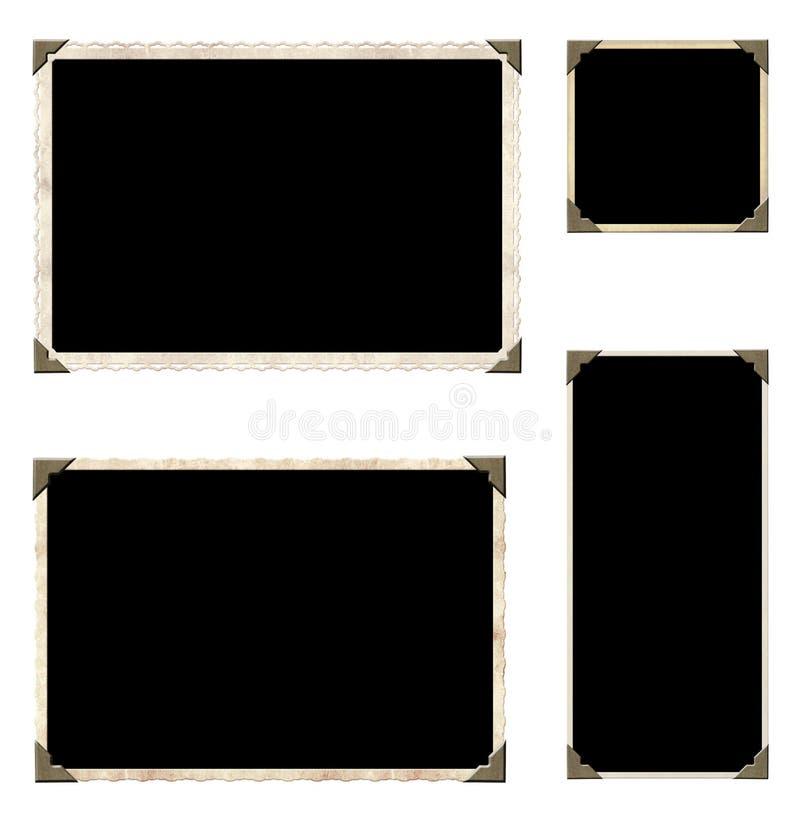 Kolekcja roczników elementy dla scrapbooking royalty ilustracja