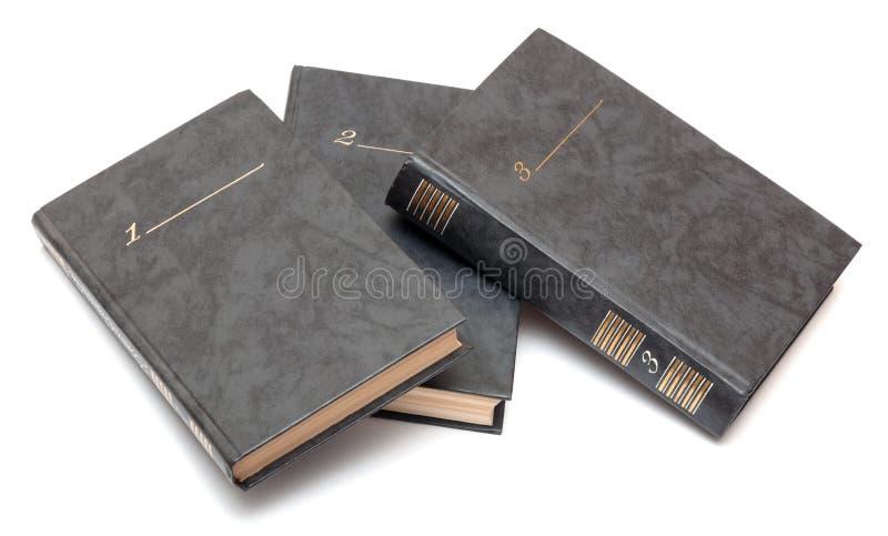 Kolekcja stare książki obrazy stock