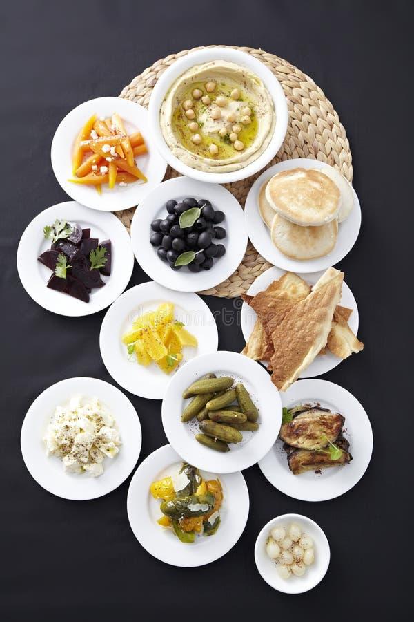 Kolekcja tapas foods fotografia stock